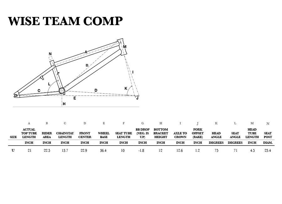 Wise Team Comp Geometry