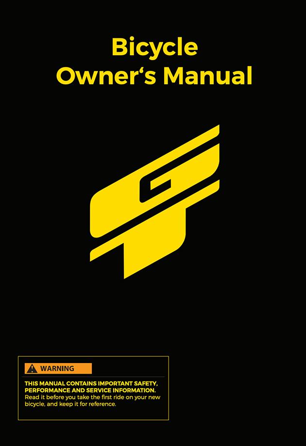 2019 International GT Owner's Manual English